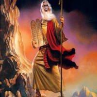 moises biblia ley