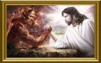 La Lucha contra el mal Jesus y el enemigo