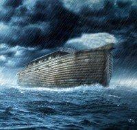 El Diluvio en la Tierra y noe