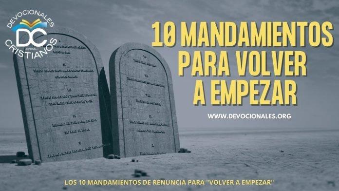 10-mandamientos-para-volver-a-empezar-biblia