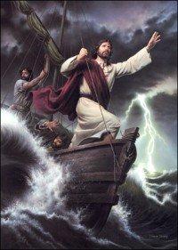 Jesus y la Tempestad