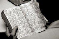 Leyendo la palabra de Dios
