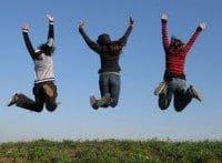 Cristianos Saltando Alegria