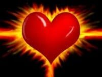 Corazon Fuego Rojo