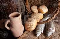 Milagros Jesus 5 panes y 2 peces