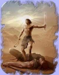 David mato Goliat