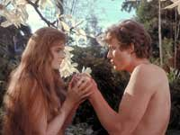 Adan y Evan jardin Eden