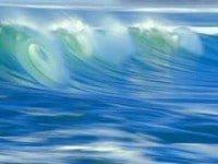 Las ondas del mar