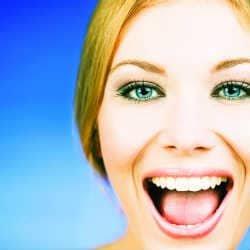 rostro de felicidad