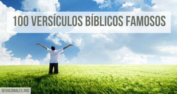 Los 100 Versículos Bíblicos Más Famosos Leídos