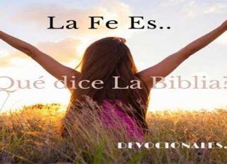 La Fe Es En La Biblia
