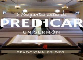 Antes de Predicar Un Sermón