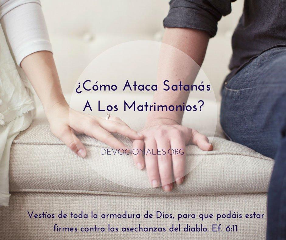 Matrimonio Segun Biblia : Cómo ataca satanás a los matrimonios cristianos? u2020