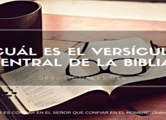 El Versículo Central De La Biblia