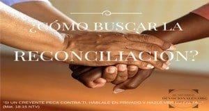 La Reconciliacion Versículos Bíblicos