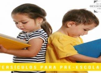 Versículos Bíblicos Para Pre-Escolares