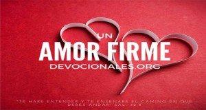 Un amor firme corazones