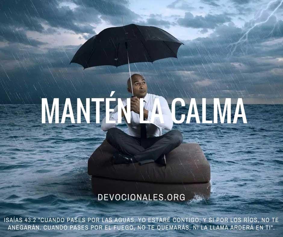 Versículos Bíblicos Sobre El Mantener La Calma
