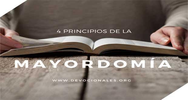 4 Principios Bíblicos Sobre La Mayordomía