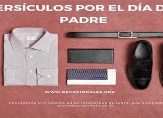 22 Versículos Bíblicos por el día del Padre
