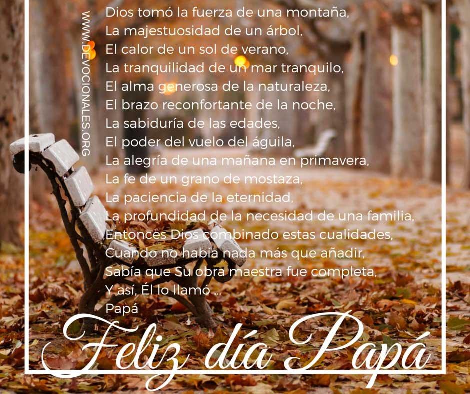 Poemas Para Matrimonio Catolico : Día del padre un excelente poema cristiano u2020 devocionales cristianos
