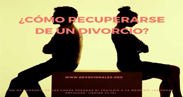 ¿Cómo Recuperarse De Un Divorcio?