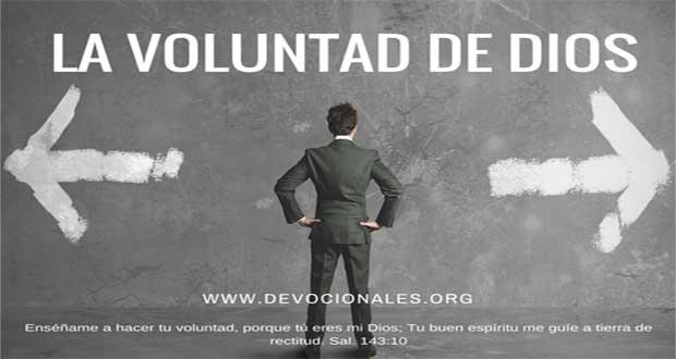 ¿Cómo Conocer La Voluntad De Dios?