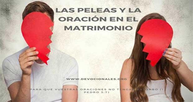 Oraciones y Peleas En El Matrimonio