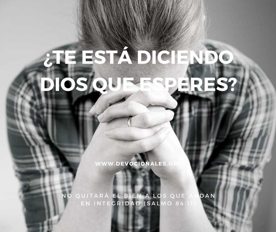 Dios Y La Espera Por Su Respuesta