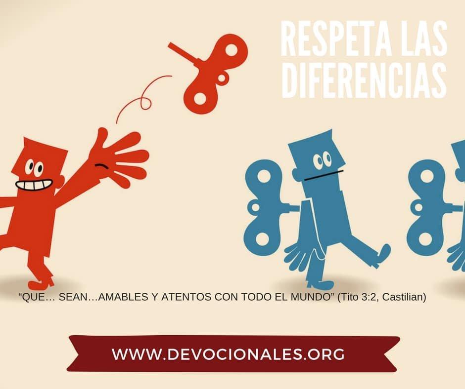 diferencias y la Biblia