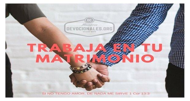 trabaja-matrimono-cristiano