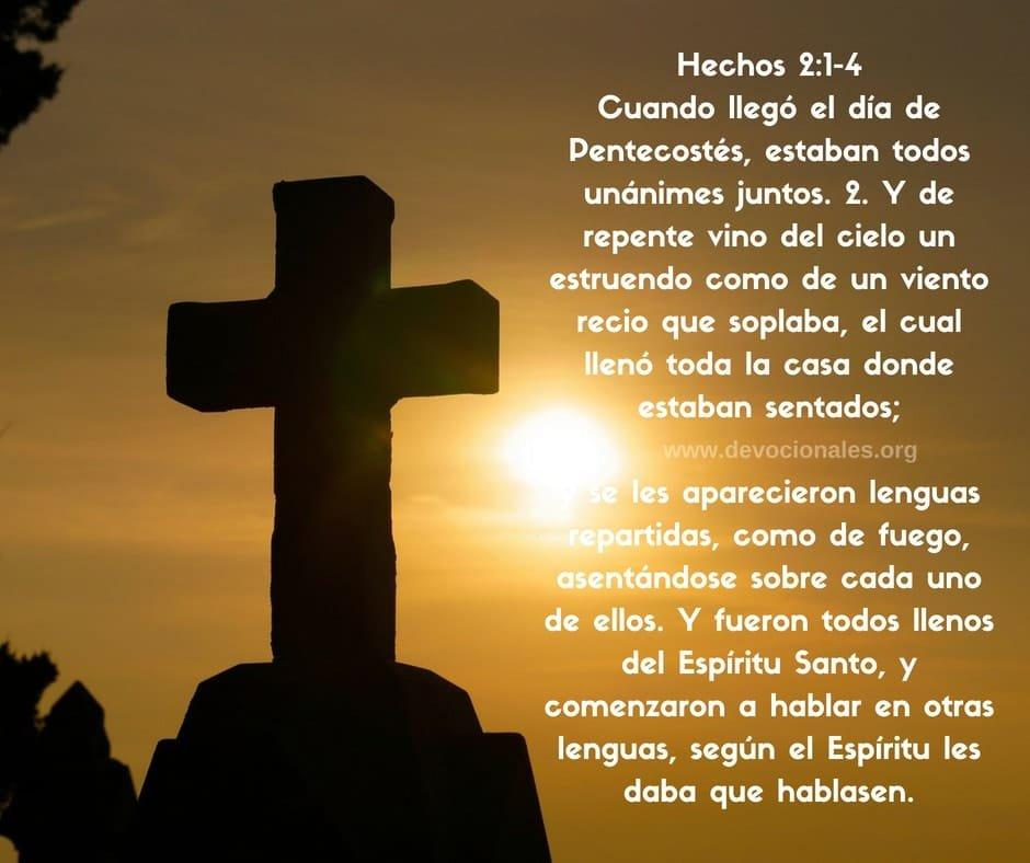 Hechos 2:1-4