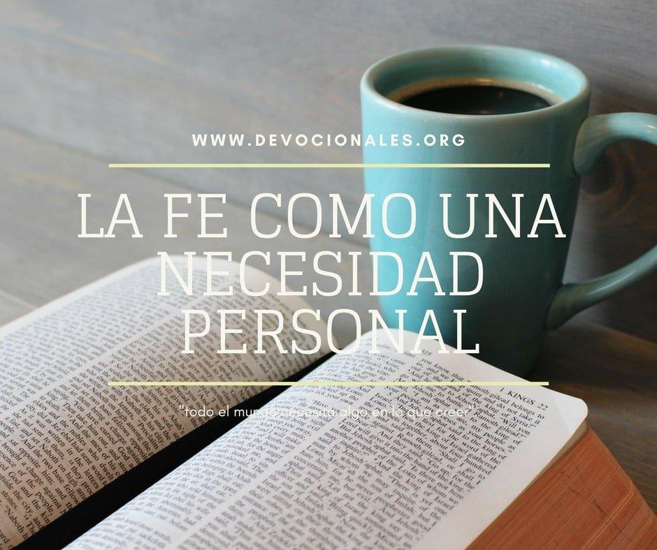 fe-necesidad-personal