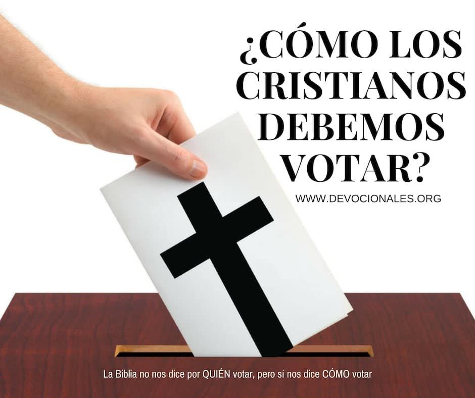 cristianos-votar-biblia