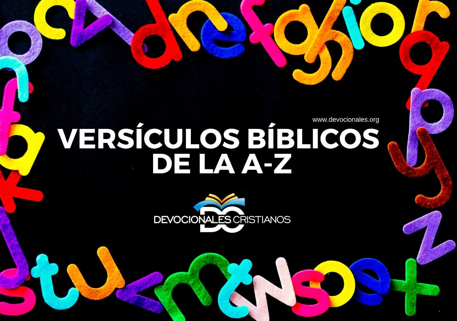 Versículos Bíblicos de la A a la Z Biblia † Abecedario
