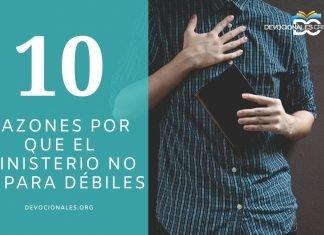 razones-ministerio-pastor-debiles-biblia